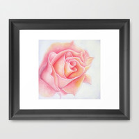 Glow Framed Art Print by Susaleena