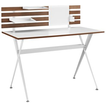 Knack Wood Office Desk Cherry EEI-1326-CHR