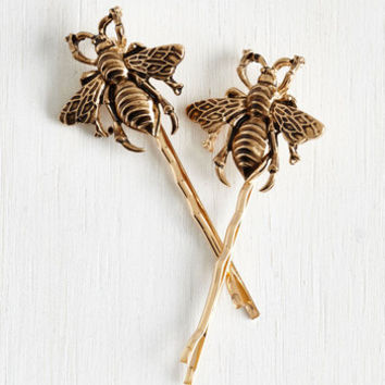 ModCloth Critters Bee Prepared Hair Pin Set