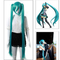Maysu 2012 New Vocaloid Hatsune Miku Show Anime Costume Cosplay Party Hair Wig