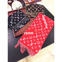 Louis Vuitton X Supreme Multicolor Fashion Women Winter Scarf  Blanket Scarf H-YH-FTMPF