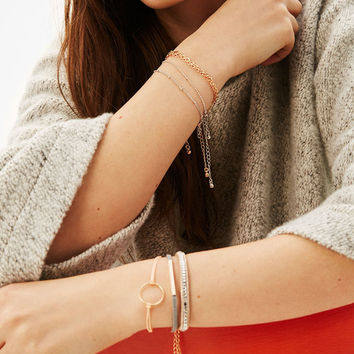 6-pack of crystal friendship bracelets - Jewelry - Bershka United States