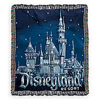 Disneyland 60th Anniversary Throw