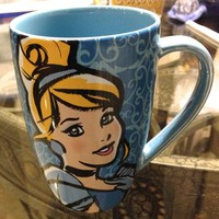 Disney Parks Exclusive Cinderella Mornings Coffee Mug
