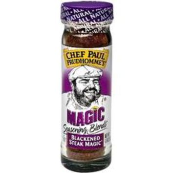 Magic Seasonings Chef Paul Prudhomme's Blackened Steak Magic  (6x1.8Oz)