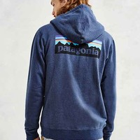 Patagonia P6 Logo Zip Hooded Sweatshirt