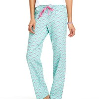Lax Whale Print Lounge Pants