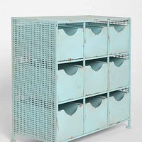 4040 Locust 9-Drawer Console