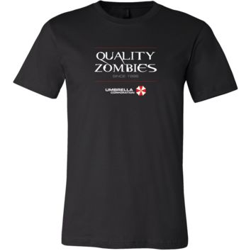 Resident Evil Quality Zombies by Umbrella Corporation Men's T-Shirt