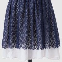 First Date Lace Skirt