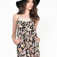 Tropical Gauze Romper