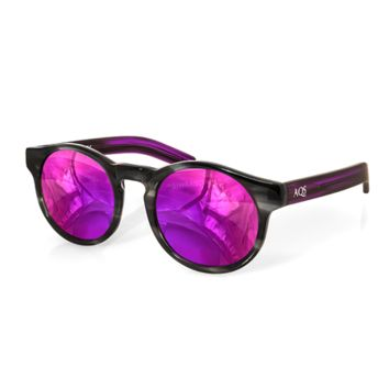 Aqs Unisex Bennie Round Keyhole Sunglasses | Bluefly