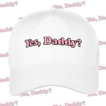 YES DADDY BASEBALL CAP