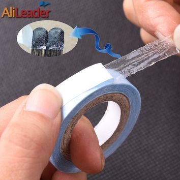 Blue 3 Yards Super Tape For Hair Extensions Adhesive Wig Tape Lace Frontal Closure Glue Strong Skin Hair Tape For Toupee/Wig