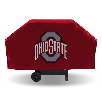 Ohio State Buckeyes NCAA Economy Barbeque Grill Cover
