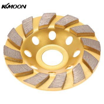 "100mm 4"" Diamond Segment Grinding Wheel Disc Bowl Shape Grinder Cup Concrete Granite Masonry Stone Ceramics Terrazzo Marble"