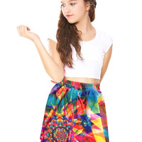 Girls Kaleidoscope Skater Skirt
