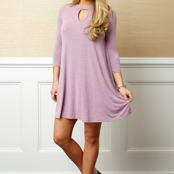 Everly Sweet Breeze Lilac Purple Dress