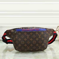 Louis Vuitton New Fashion Women Men Leather Purse Waist Bag Single-Shoulder Bag Crossbody