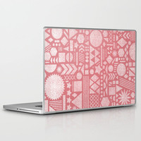 Modern Elements with Bubble Gum. Laptop & iPad Skin by Nick Nelson | Society6