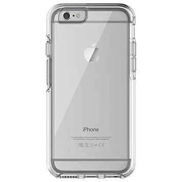 """OtterBox SYMMETRY CLEAR SERIES Case for iPhone 6/6s (4.7"""" Version) - Retail Packaging - CLEAR (CLEAR/CLEAR)"""