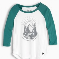 Women's Two Pines Baseball Tee