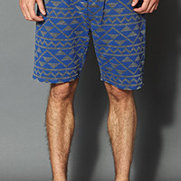 Heathered Geo Shorts