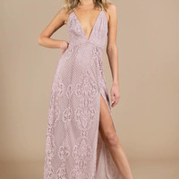Swoon Over You Lace Maxi Dress