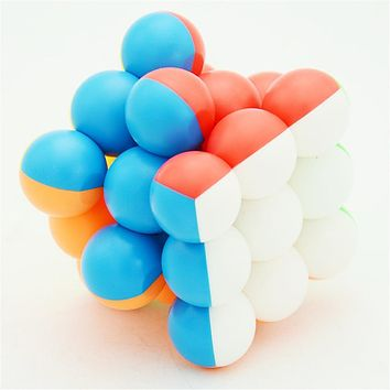 Circular Speed Cube Puzzle Toy
