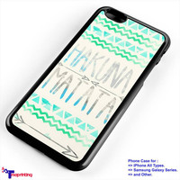 Hakuna Matata Aztec Tribal - Personalized iPhone 7 Case, iPhone 6/6S Plus, 5 5S SE, 7S Plus, Samsung Galaxy S5 S6 S7 S8 Case, and Other
