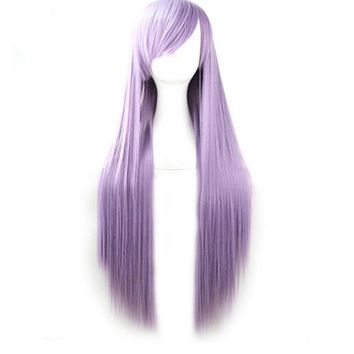 A Cool Lavender Wig