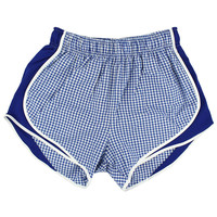 Lauren James Co Royal Blue Gingham Shorties