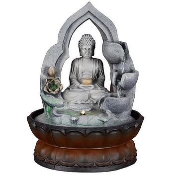 Buddha Statue Home Decoration water Fountain