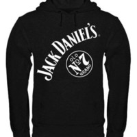 Jack Daniel's No 7 Mens Pullover Hooded Sweatshirt