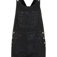 MOTO Short Denim Dungaree - Topshop