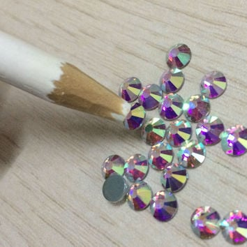 3 x Nail Art Rhinestones Gems Picking Tools Pencil Pen Pick Up Pen Beads Sewing Tools Picker