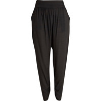 River Island Womens Black harem pants