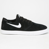 Nike Sb Zoom Oneshot Shoes Black/White  In Sizes