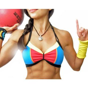 Super Girl Retro Sports Bra by jmorco on Etsy