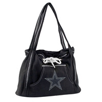 Dallas Cowboys NFL Sport Noir Hoodie Purse
