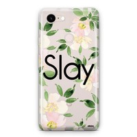Slay with Flowers Google Pixel 3 Clear Case