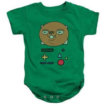 Adventure Time - Bmo Mask Infant Snapsuit Officially Licensed Baby Clothing