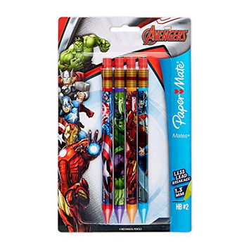 Paper Mate Mates Mechanical Pencil, 4-Pack, Marvel (1929013)