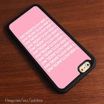 1-800-Hotline Bling iPhone 6s Plus case 5s 5c SE 4s iPod HTC LG Samsung Cases
