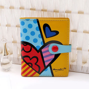 New Popular Women Wallet Lovely Cartoon Character Fashion Painting Lady Purse Multi Color Bifolds Girl Hasp Cute Small Wallets
