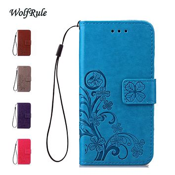 WolfRule sFor Case Samsung Galaxy J3 2016 Cover Flip PU Leather +TPU Case For Samsung Galaxy J3 2016 Case For Samsung J3 2016 <]