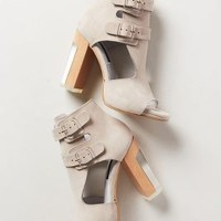 Solaria Heels by Anthropologie Grey 4