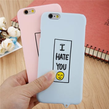 Cartoon Smile Case for iphone 6 / 6s / Plus