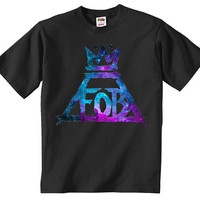 Fall Out Boy Galaxy T-Shirt in Men's and Women's