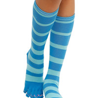 Disney Lilo & Stitch Striped Toe Socks